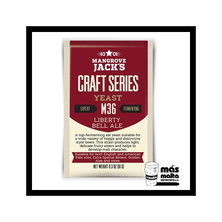 Mangrove Jack's CS Yeast M36 Liberty Bell Ale (10g)