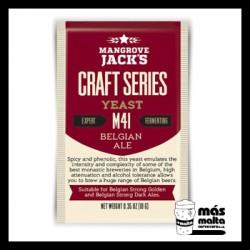 Mangrove Jack's CS Yeast M41 Belgian Ale (10g)