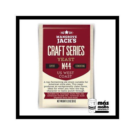 Mangrove Jack's CS Yeast M44 US West Coast (10g)