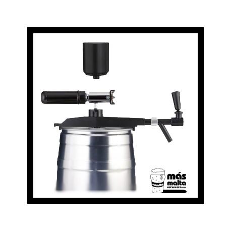 Espita/Grifo para (lata5L) + Dispensador CO2 + Dispensador manual