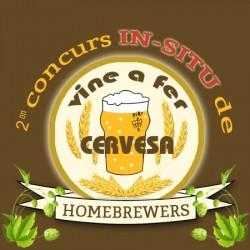 Concurs Home Brewer IN SITU '17 HORARIO DE 16:30h A 17:30h