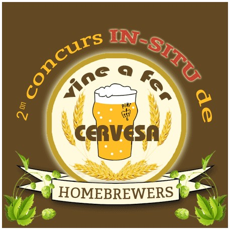 Concurs Home Brewer IN SITU '17 HORARIO DE 16:30h A 17:30h