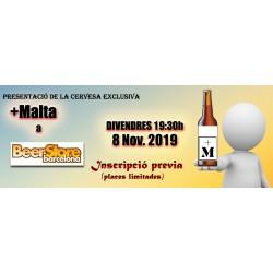 Cata en BEER STORE -VFC19 +MALTA