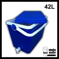 Termonevera 42 L con grifo y filtro compacto