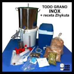 Equipo TODO GRANO INOX 25L+ receta Zhykuta-ale