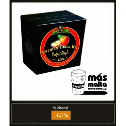 SIDRA manzana: Perfect Apple Cider 3Kg (23L)