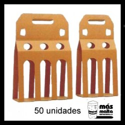 50 unid. Pack DOBLE plus cartón KRAFT ANÓNIMO