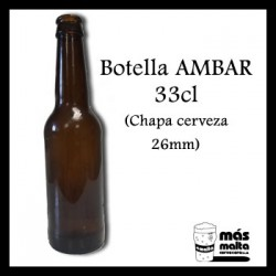 Botella Ambar 0,33cl