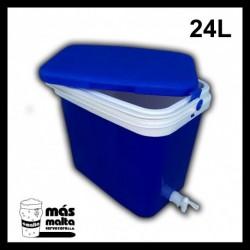 Termonevera 24 L con grifo y filtro compacto