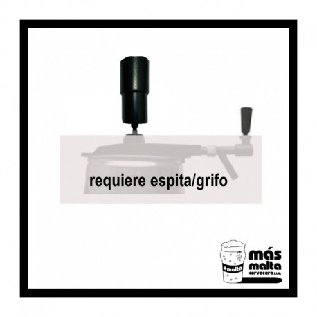 COMPLEMENTO espita: Dispensador Aire, manual (lata5L)