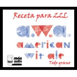 Receta AWA Americacn Wheat Ale (Sin Moler) 20L