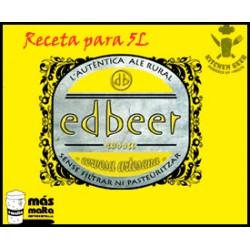 Kitchen-Beer Receta Edbeer Iber Ale (molido) 5L + botella