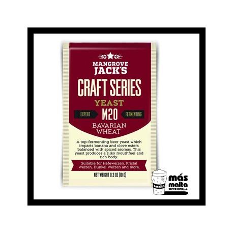 Mangrove Jack's CS Yeast M20 Bavarian Wheat (10g)