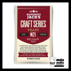 Mangrove Jack's CS Yeast M21 Belgian Wit (10g)