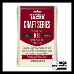 Mangrove Jack's CS Yeast M31 Belgian Tripel (10g)