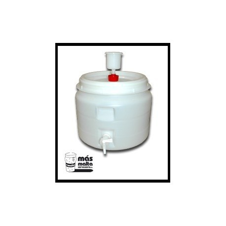 Dpto. Fermentador plastc. 30L (tapa hermética, airlock y grifo)