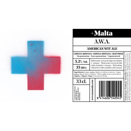A.W.A. (American Wheat Ale) bot. 33Cl