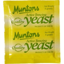 Levadura Muntons Active Brewing Yeast 6g