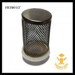 Filtro INOX 3/4 + tubo PVC