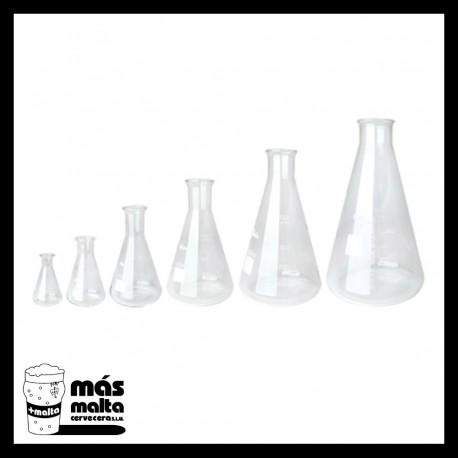 Erlenmeyer 1.000 ml -vidrio tipo Pyrex-