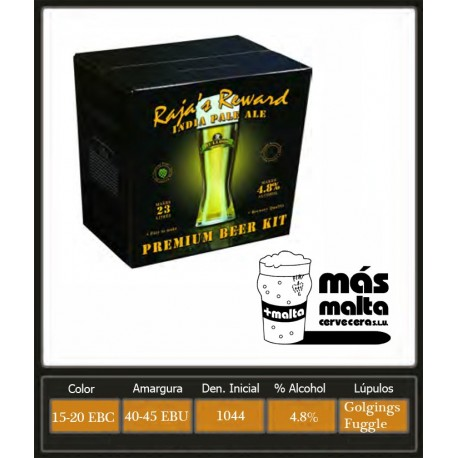 Raja's Reward India Pale Ale 3,4Kg (23L)
