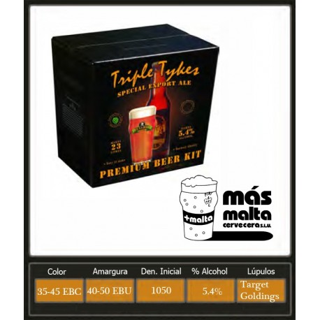 Triple Tykes Special Export Ale 4Kg (23L)