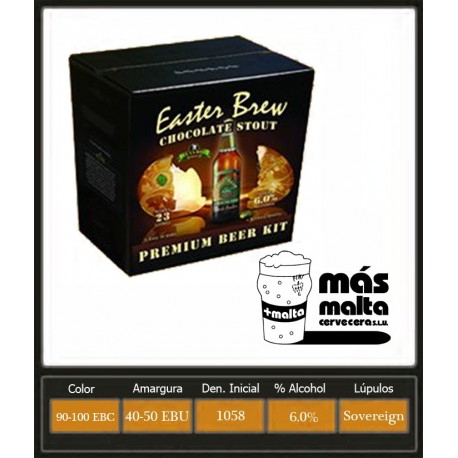Easter Brew Chocolate Stout 4,2Kg (23L)