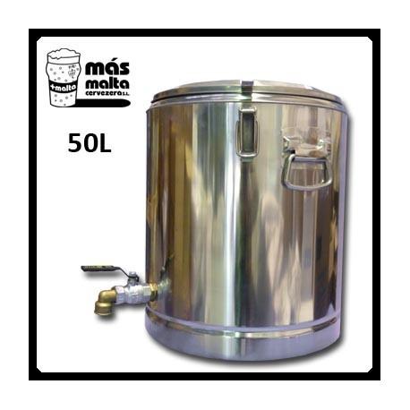 Macerador INOX 50L (con filtro compacto) salida 3/4