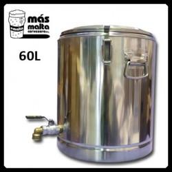 Macerador INOX 60L (con filtro compacto) salida 3/4