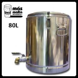 Macerador INOX 80L (con filtro compacto) salida 3/4