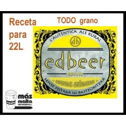 Maltkit EdbEER Rubia- Iber Ale nacional 22L