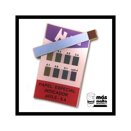 Papel pH (20un.)