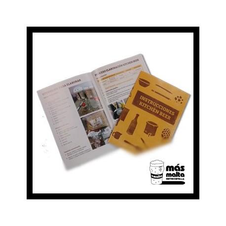 Librito INSTRUCCIONES Kitchen-beer -recambio