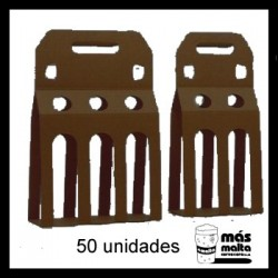 50 unid. Pack DOBLE plus cartón negro ANÓNIMO