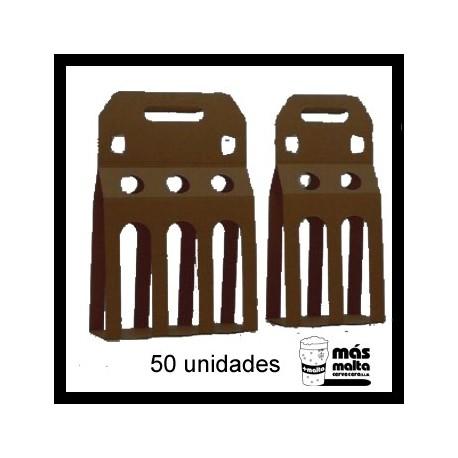 50 unid. Pack DOBLE plus cartón negro ANÓNIMO