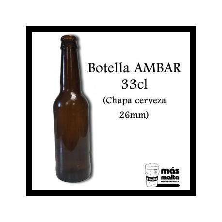 Botella Ambar 0,33cl