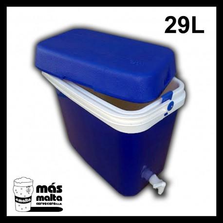 Termonevera 29 L con grifo y filtro compacto