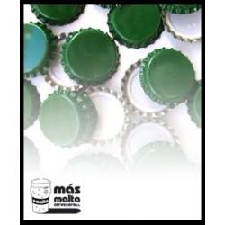 Chapas Cerveza Verde